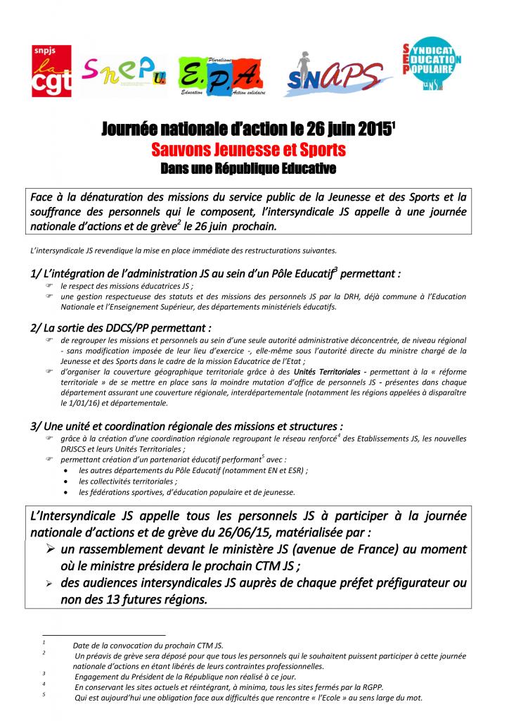 Appel action  26 06 15