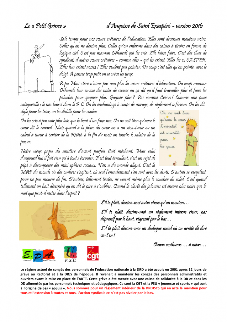 tract DR petit Grince recto